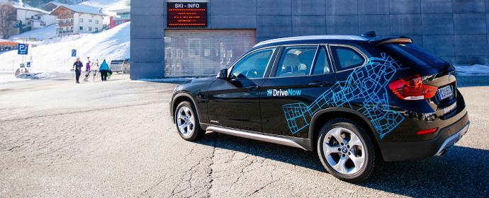 Mit DriveNow und dem Ski-Paket ins Hochzillertal