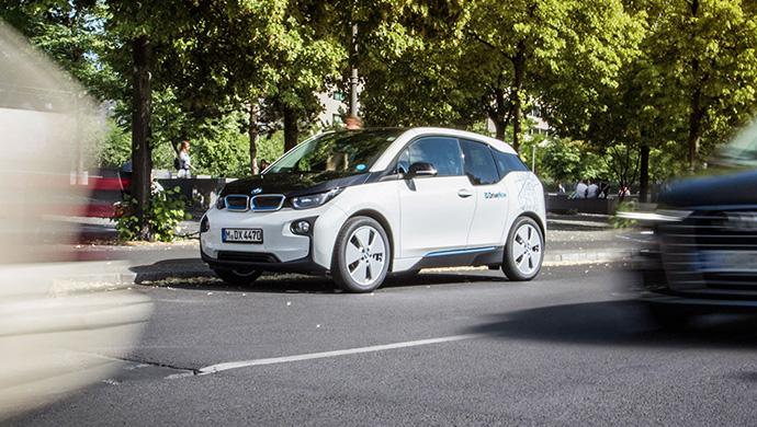 Elektroautos bei DriveNow genauso beliebt wie Benziner