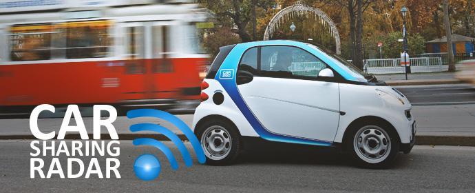 Carsharing-Radar: Führerschein nur für Carsharingautos in Östereich im Gespräch