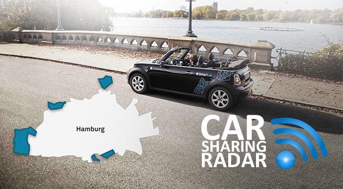 CarsharingRadar - DriveNow erweitert Geschäftsgebiete in Berlin und Hamburg