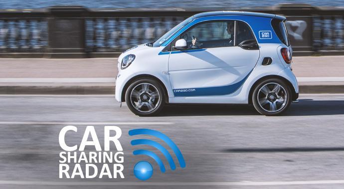 Carsharing-Radar - car2go zählt in Hamburg den 100.000sten Kunden