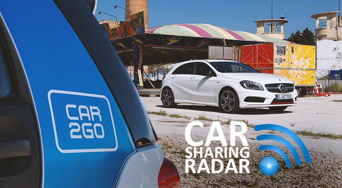 CarsharingRadar-car2go wird wie DriveNow - bald A-Klasse und B-Klasse im FreeFloating-Carsharing denkbar