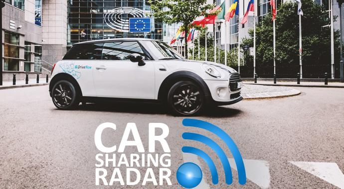 CarsharingRadar - DriveNow startet in Brüssel und arbeitet an der Software