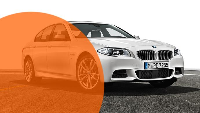 Ein BMW M550d wurde mit einer dreisten Masche von Sixt-Station in München-Lehel gestohlen