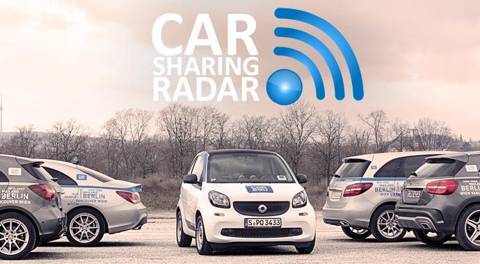 CarsharingRadar - So parkt ihr euer Carsharingauto richtig
