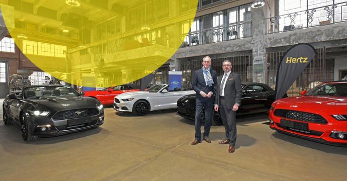 Hertz bekommt 150 Ford Mustang für die Sommersaison 2017