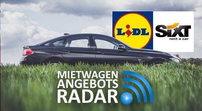 AngebotsRadar: Das Glücksauto von Sixt und Lidl für 49.90 Euro