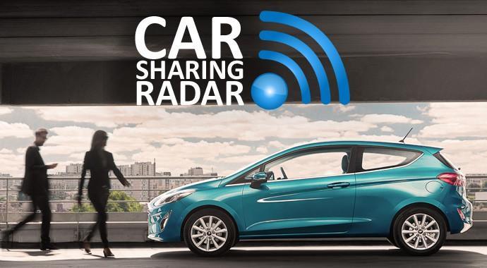 Carsharing-Radar_Das klassische Carsharingmodell passt für Ford nicht - Ridesharing ist die Form, mit der Geld verdient werden sollt