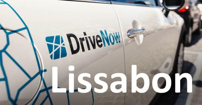 DriveNow nimmt zusammen mit dem Partner Brisa-Group Lissabon in einem Franchise-Modell unter die Räderq