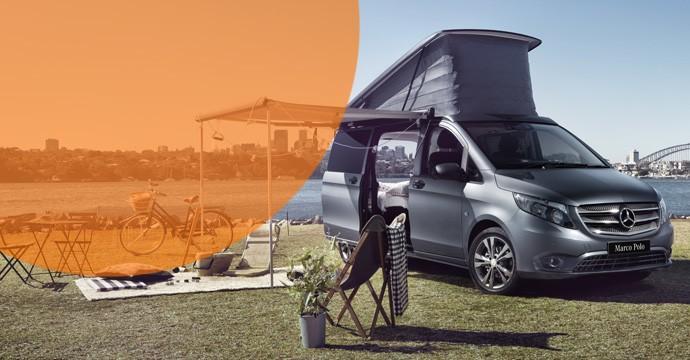 Sixt Leasing nimmt Camper-Vans VW T6 California und Mercedes V-Klasse Marco Polo ins Programm