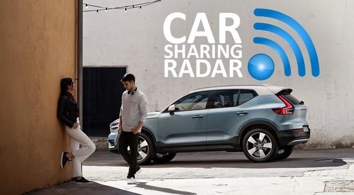 Volvos XC40 bekommt das Carsharing-Gen mit auf den Weg - Technische Vorrüstung für Carsharing bei jedem Volvo XC40 dabei