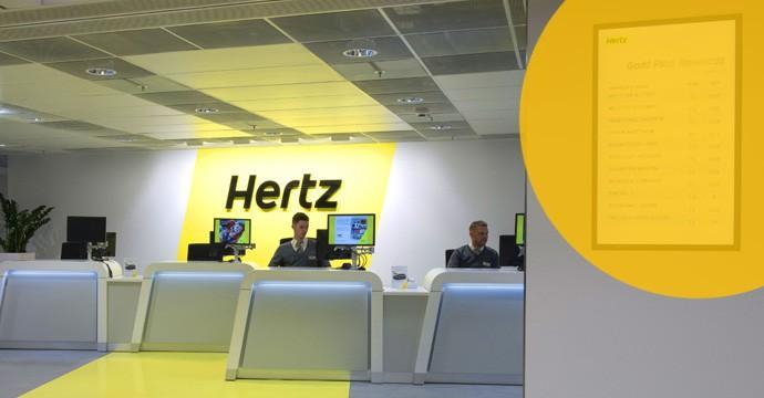 Neuer Flagship Store von Hertz am Züricher Paradeplatz