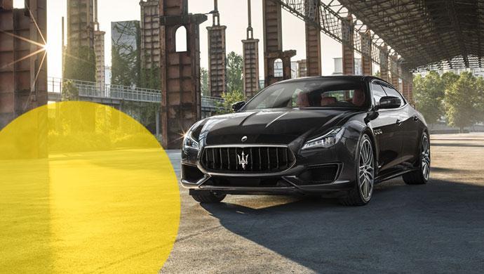 Den Maserati Quattroporte GTS können Mietwagen-Liebhaber im Sommer 2018 bei Hertz mieten