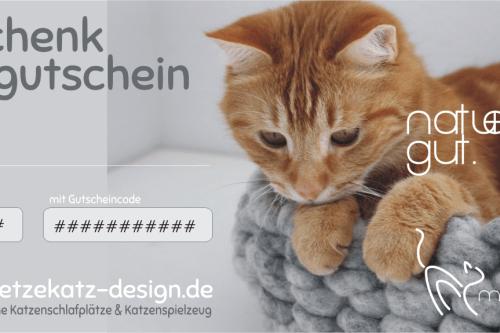 Gutschein mietzekatz Design Katzenmöbel