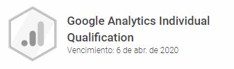 Certificado Analytics
