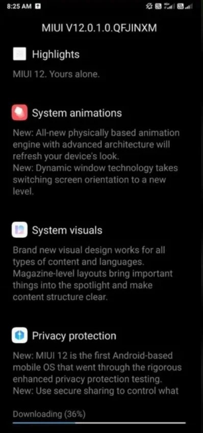 miui 12 stable for Redmi k20