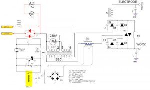 Arc Welder output Current Control and DC Rectifier Upgrade
