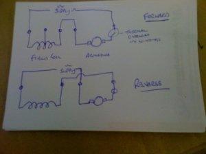 Washing machine motor wiring | MIG Welding Forum