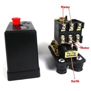 3 phase pressure switch wiring on 1 phase pressor | MIG