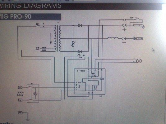 Clarke Pro 90 Wire Feed Motor