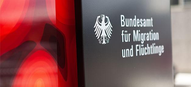 Das Bundesamt für Migration und Flüchtlinge (BAMF) © MiG