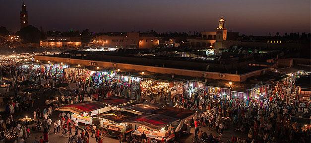 Marrakesch in Marokko © SuperCar-RoadTrip.fr @ flickr.com (CC 2.0), bearb. MiG