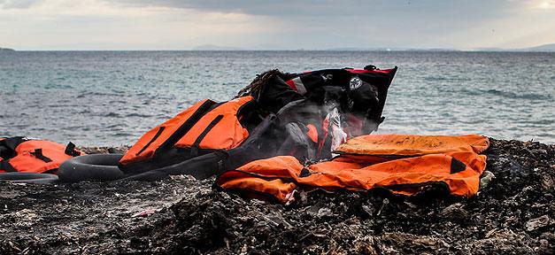 Strand von Chios/Griechenland © Tim Lüddemann @ flickr.com (CC 2.0)