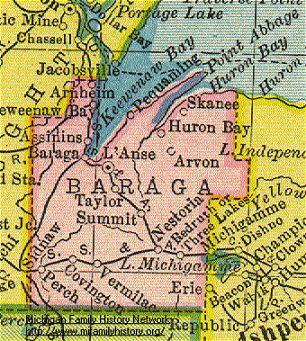 Michigan: Baraga County | Every County