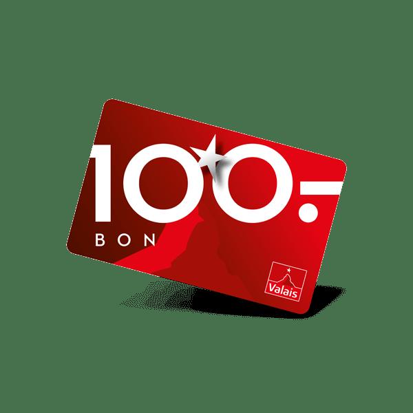 Valais: Bon 100 francs