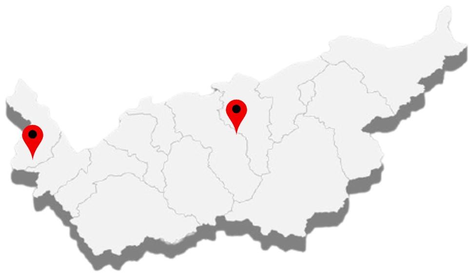 Valais Map