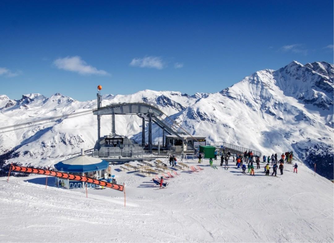 Ski lifts in Grimentz