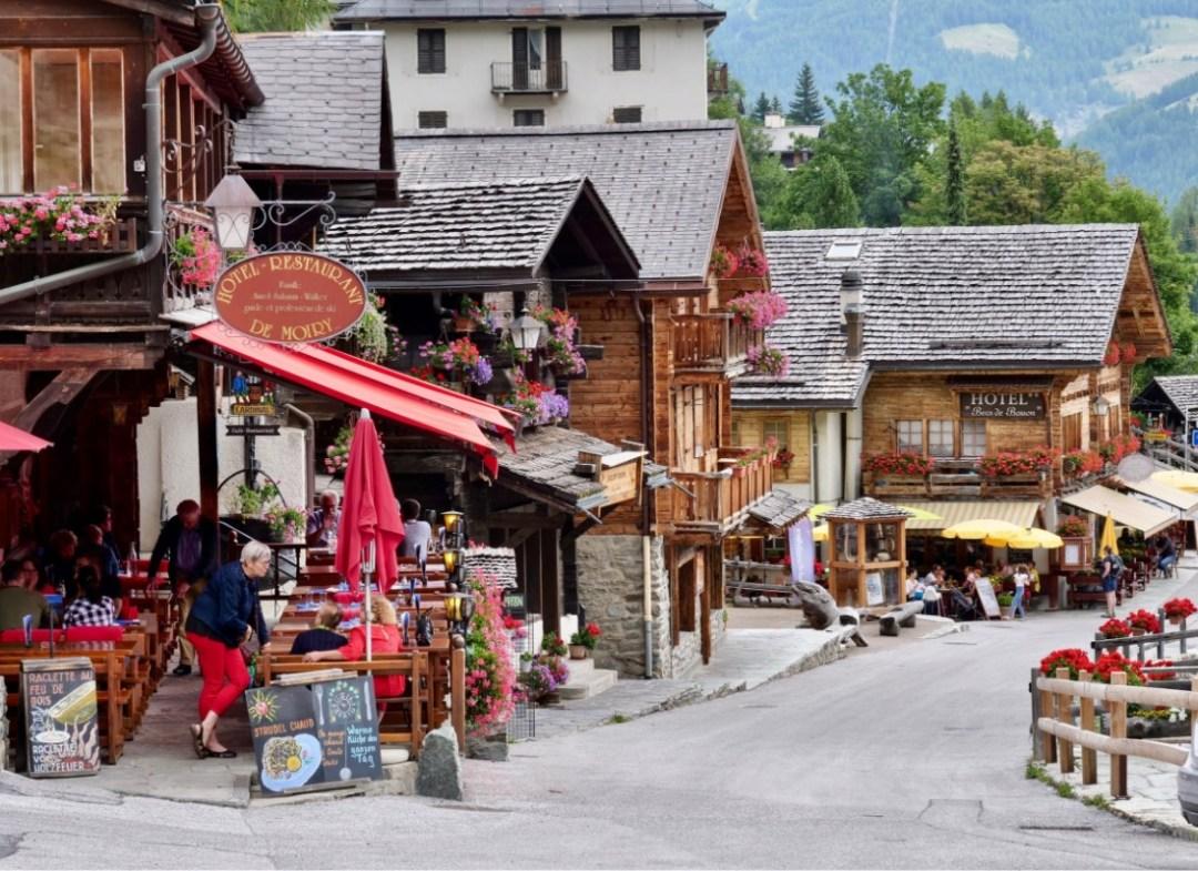 Local shops in Grimentz