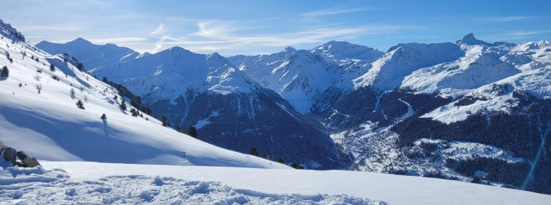 Val d'Anniviers snow