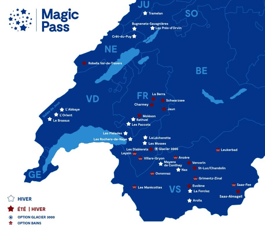 Magic pass map
