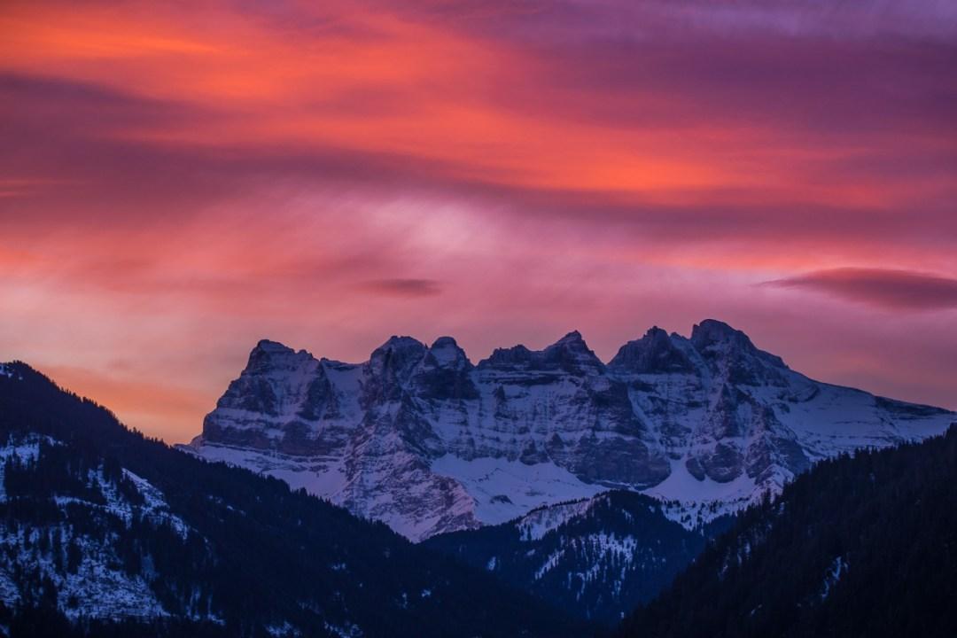 Alpen-Skyline