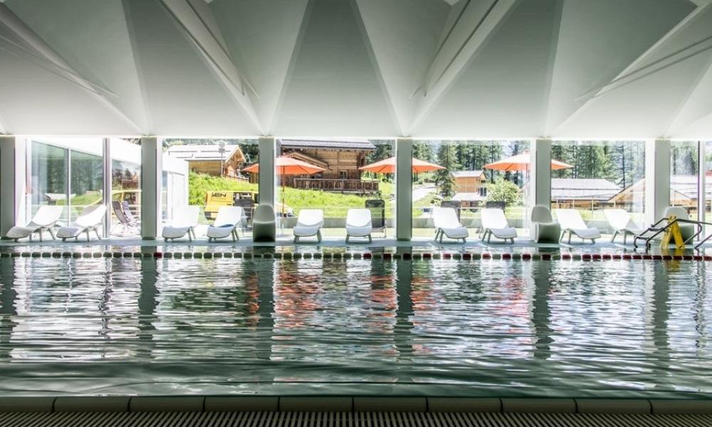 Schwimmbad Zinal