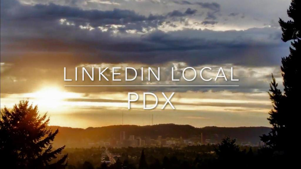 Sunset Image for LinkedIn Local PDX