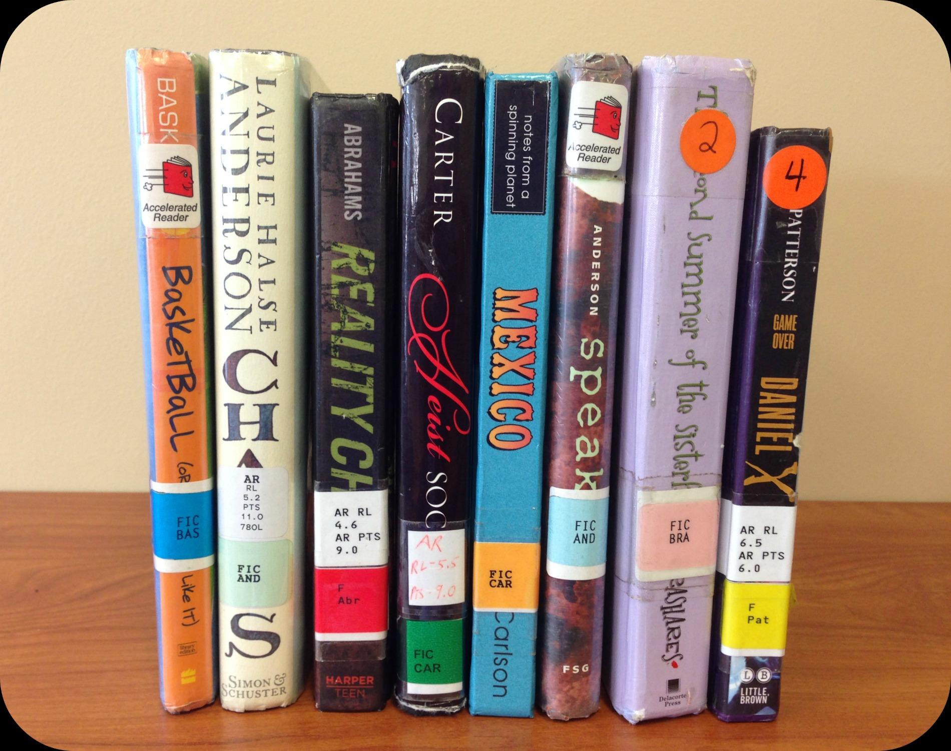 Sassy Library Shelf Labels Printable