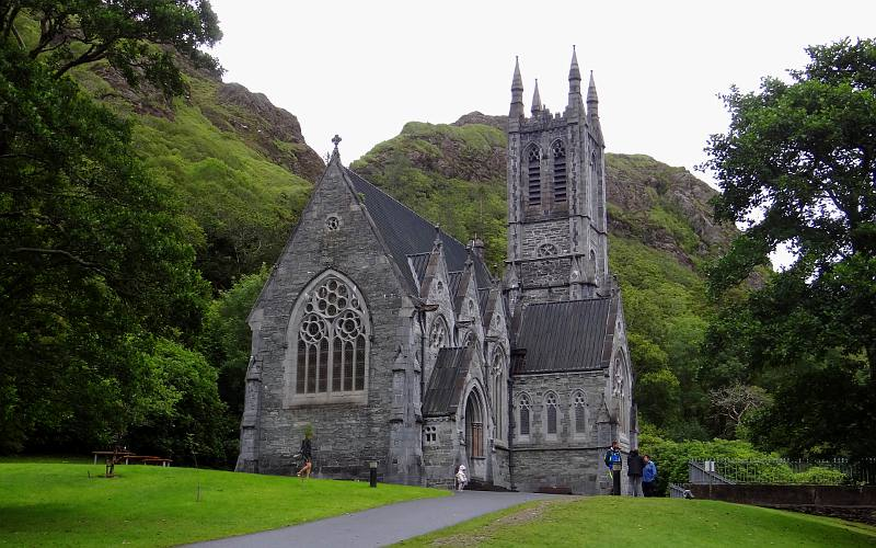 Image result for Gothic Church at Kylemore Abbey