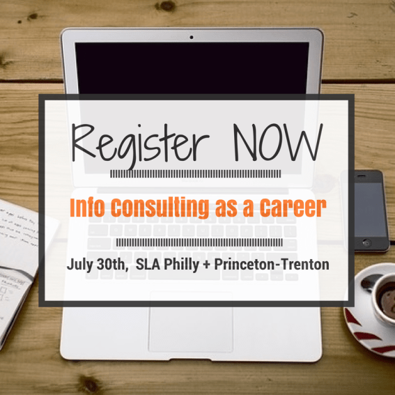 SLA Info Consulting as a Career Workshop