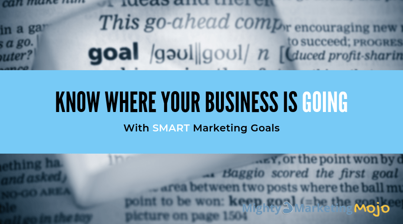Mighty Marketing SMART Goals Give Business Clarity Direction