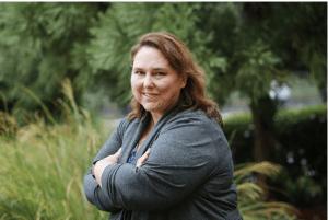 Jennifer Burke Mighty Marketing Mojo Headshot Outside Atlanta