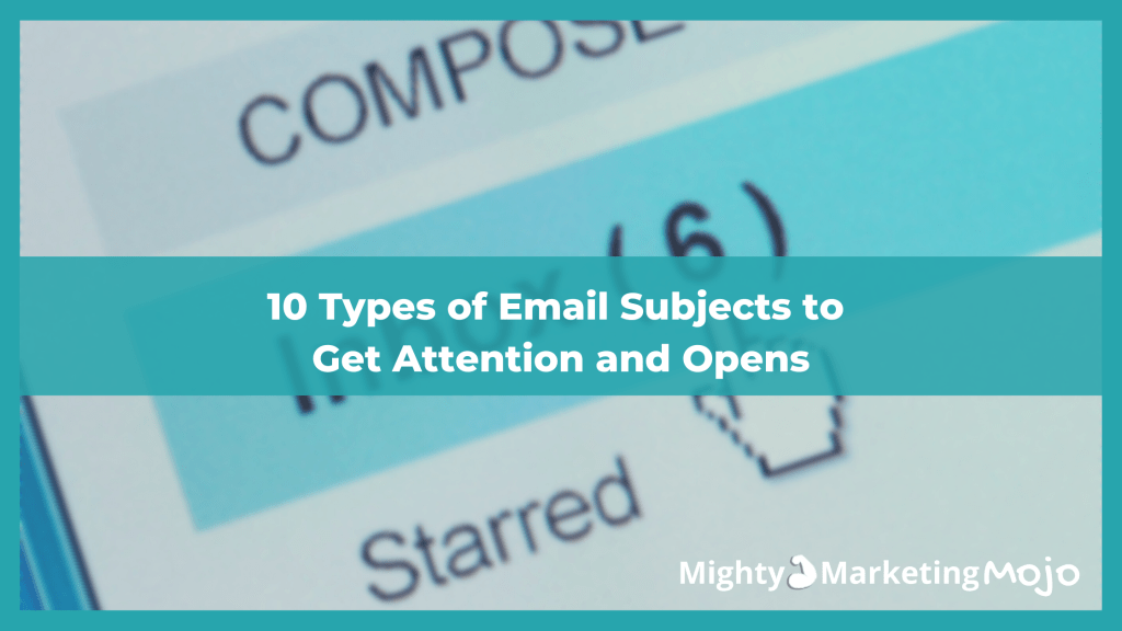 10 types of email subject lines by OptinMonster inbox photo