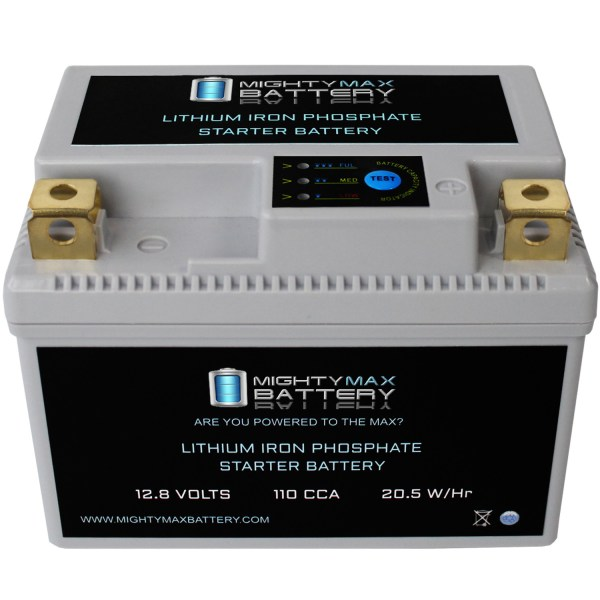 YTX5L-BS 12V 110CCA Lithium Iron Phosphate Battery