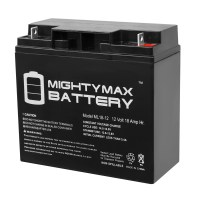 12V 18AH Sealed Lead Acid Battery for Mongoose Fusion Scooter