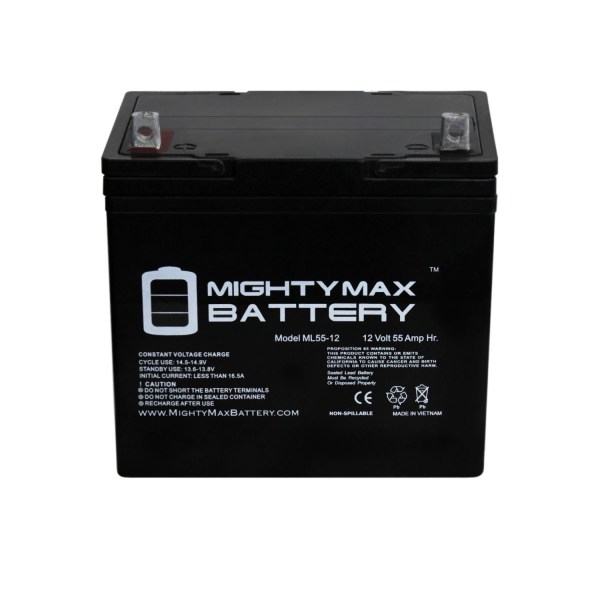 12V 55Ah Battery for Electric Mobility Rascal P200