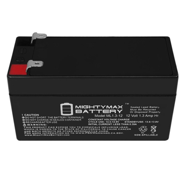 12V 1.3Ah Battery Replacement for Sigma SIO-TEC Portable Suction Unit
