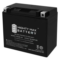 YTX20L-BS Power Sport AGM Series Sealed AGM Battery