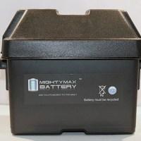 Group U1 Battery Box for John Deere Dixie Chopper Mower