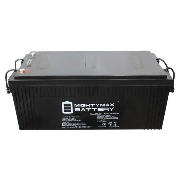 12V 250Ah Sealed Lead Acid Battery for SCADA Systems Solar Backup